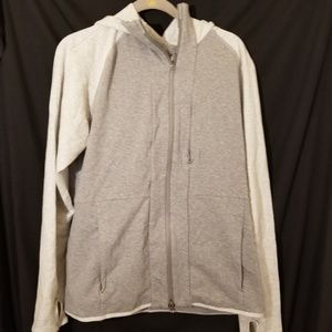 Lululemon mens grey zip up hoodie sz L